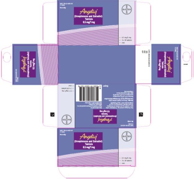 angeliq serialized carton .5