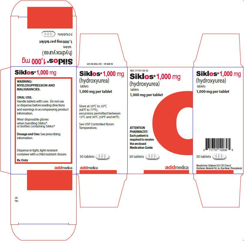 PRINCIPAL DISPLAY PANEL - 1,000 mg Tablet Bottle Carton