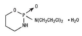 Cyclophosphamide Structure Formula