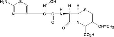 Cefdinir Chemical Structure