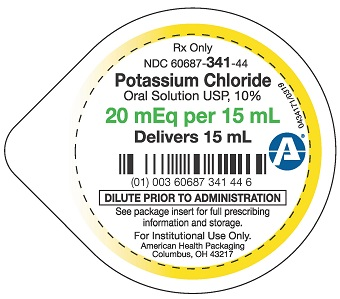 20 mEq-15 mL Potassium Chloride Oral Solution Cup Lid