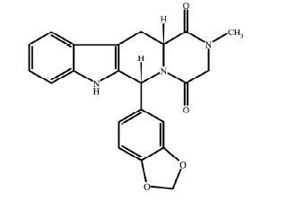 tadalafil structural formula