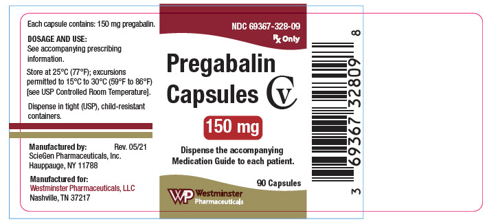 PRINCIPAL DISPLAY PANEL - 150 mg Capsule Bottle Label