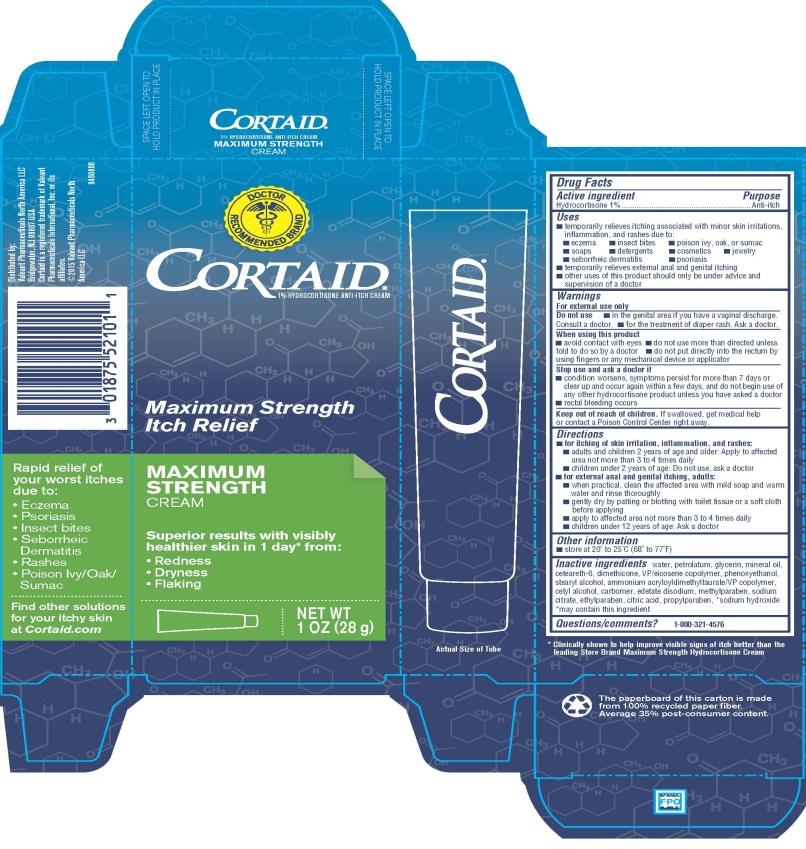 Cortaid Maximum Strength Itch Relief - 1oz Carton