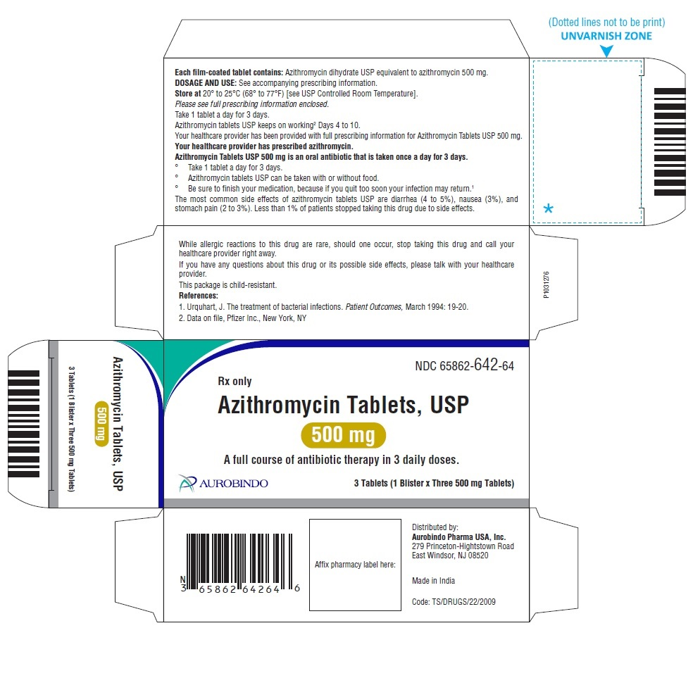 PACKAGE LABEL-PRINCIPAL DISPLAY PANEL - 500 mg 3 Tablets (1 Blister x Three 500 mg Tablets)