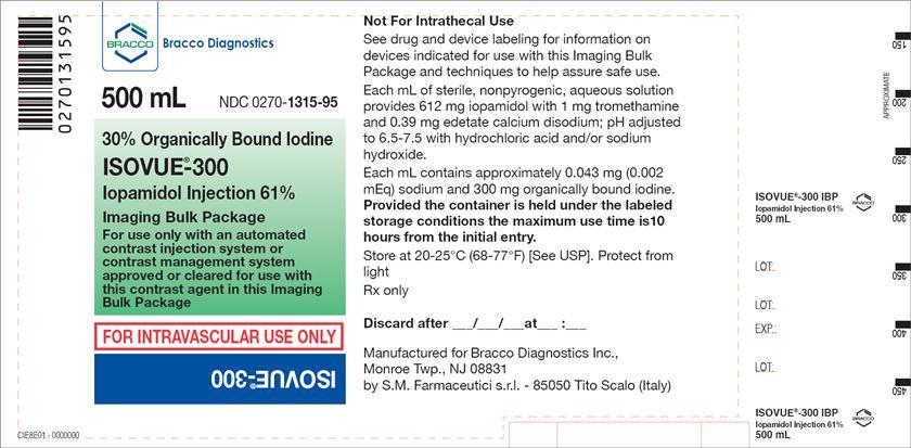 Isovue-300 500 mL Imaging Bulk Pack
