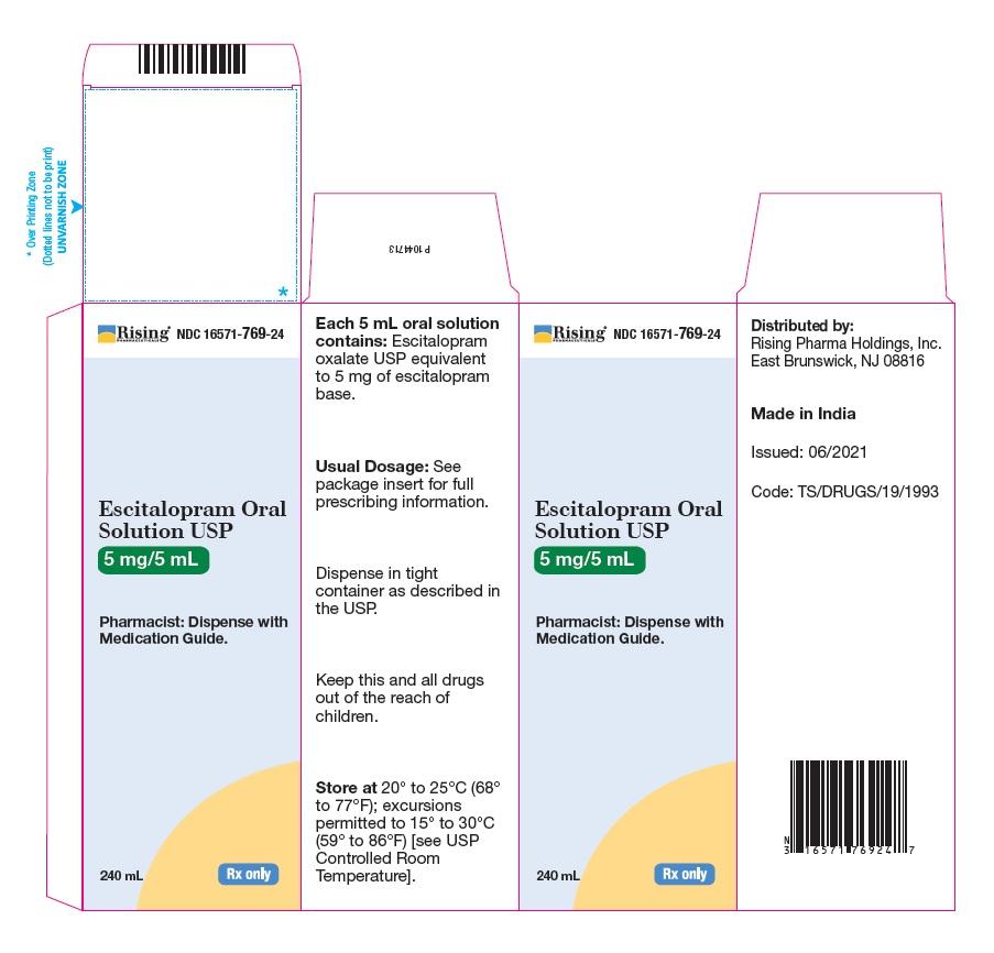 PACKAGE LABEL-PRINCIPAL DISPLAY PANEL - 5 mg/5 mL (240 mL Bottle)