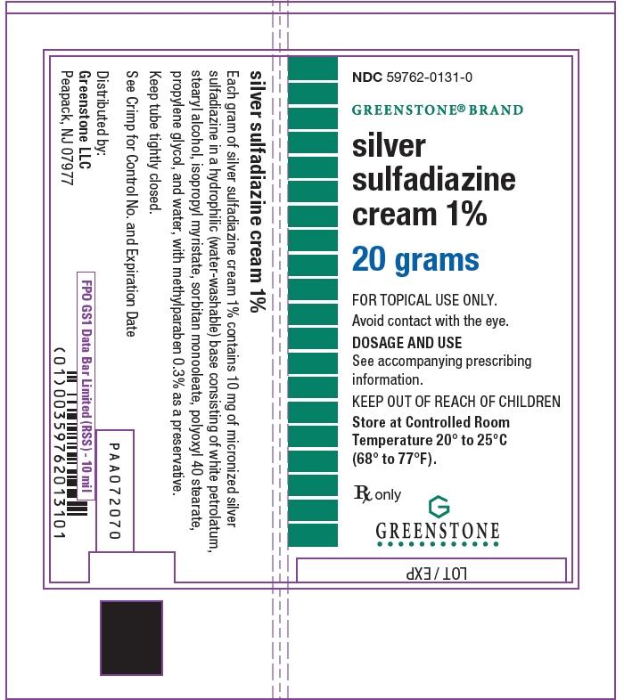 PRINCIPAL DISPLAY PANEL - 20 gram Tube Label