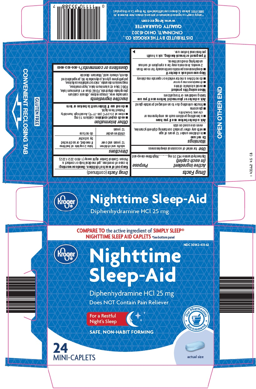Kroger Nighttime Sleep Aid