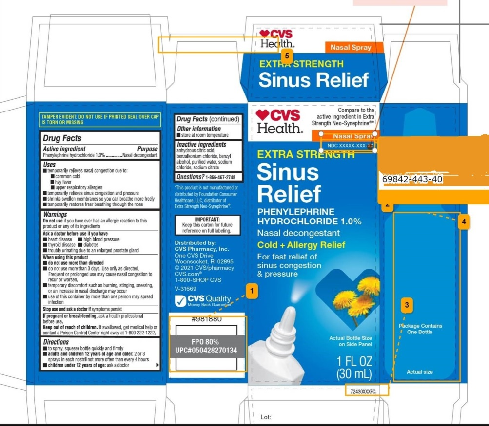 Extra Strength Sinus Relief Cold and Allergy Relief