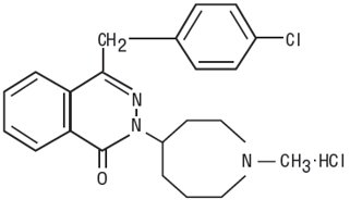 Azelastine Hydrochloride Structural Formula