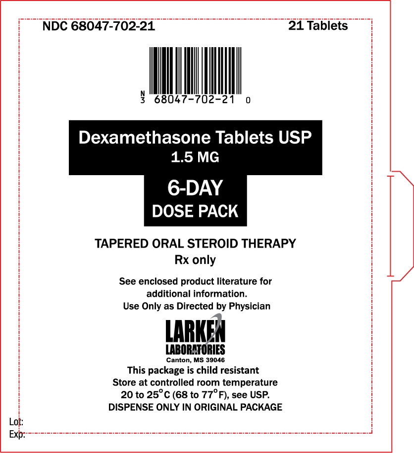 6-Day Dose Pack label