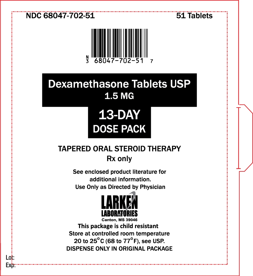 13-Day Dose Pack label