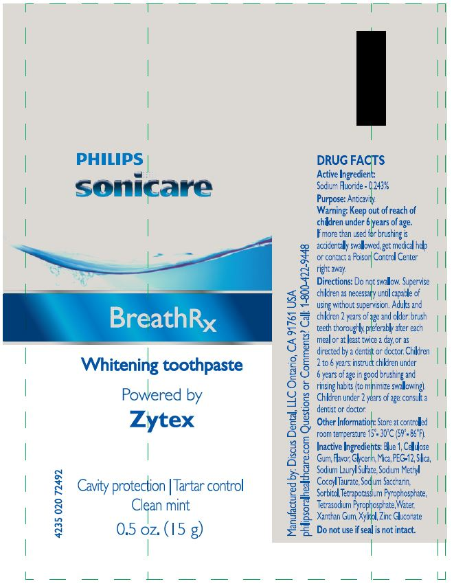 Toothpaste - Label