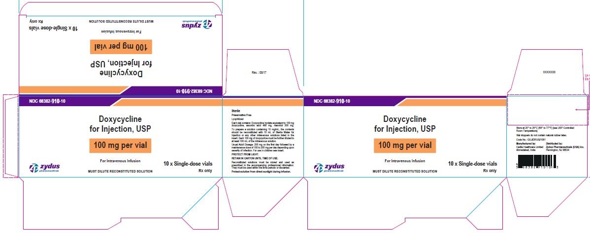100 mg per vial Carton Label