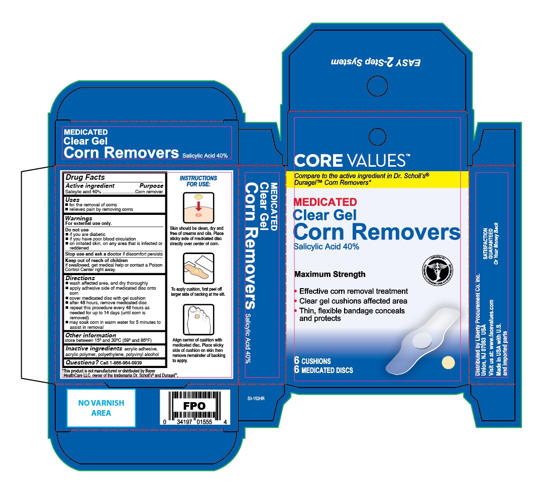 Clear Gel Corn Removers