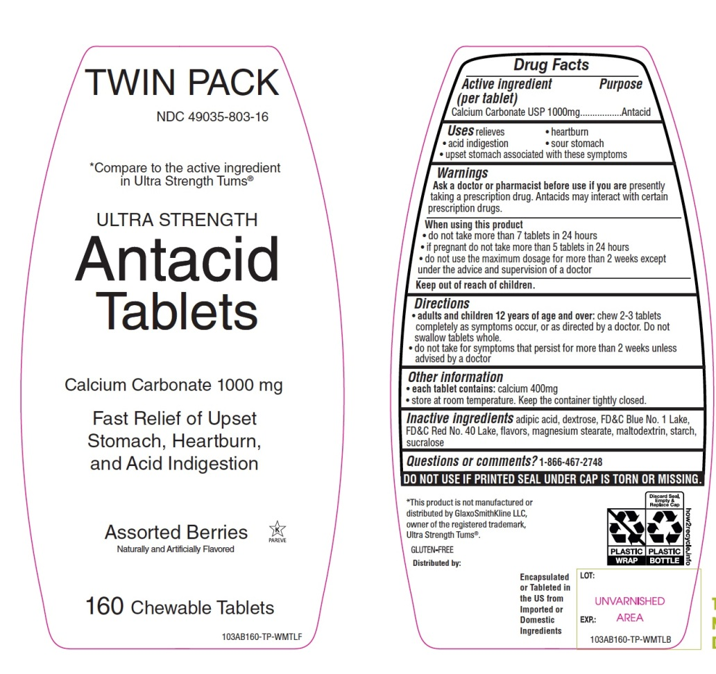 Twink Pack Ultra Strength Assorted Berry Antacid Tablets