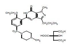 sildenafilstructure