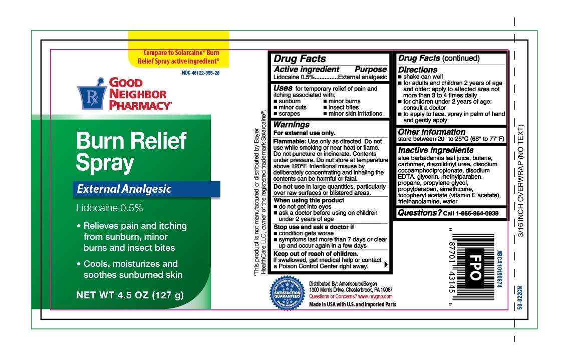 GNP Burn Relief Spray