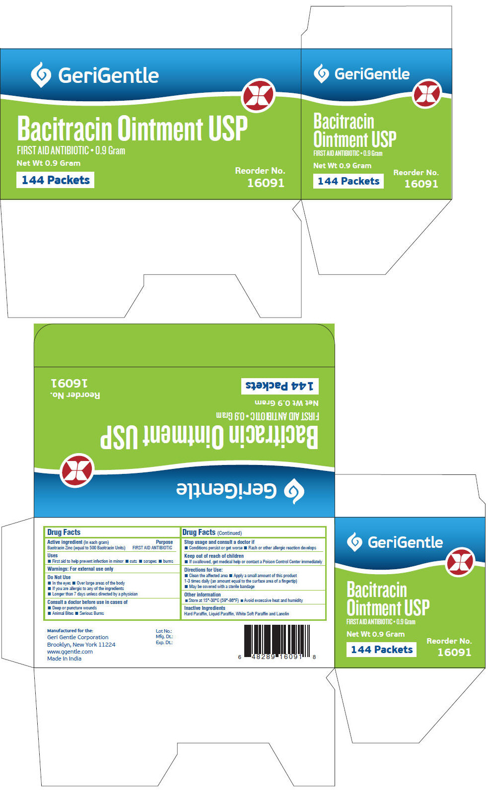 PRINCIPAL DISPLAY PANEL - 0.9 Gram Packet Box