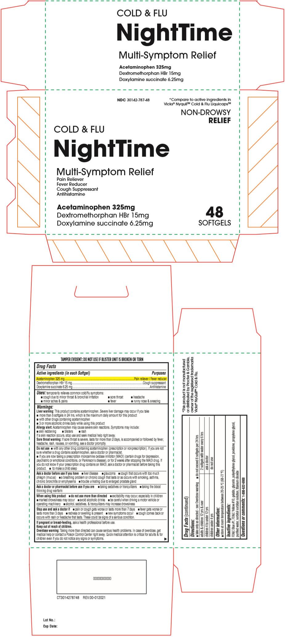PRINCIPAL DISPLAY PANEL - 325 mg Capsule Blister Pack Carton