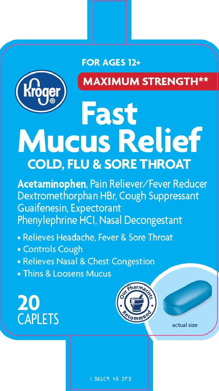 Kroger Fast Mucus Relief image 2