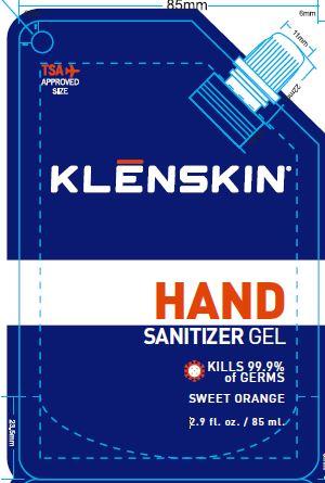 01b LBL_Sanitizer_KLENSKIN_3oz