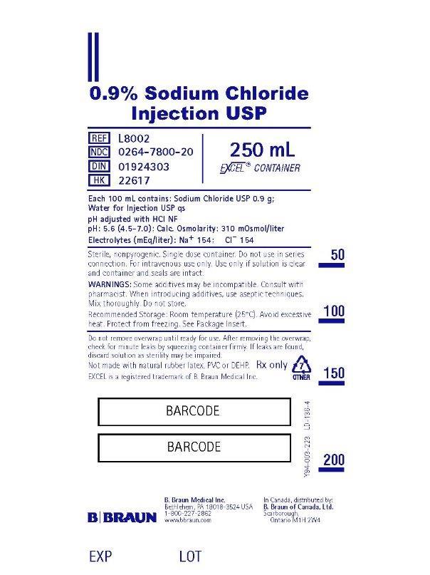 250 mL Container Label L8002