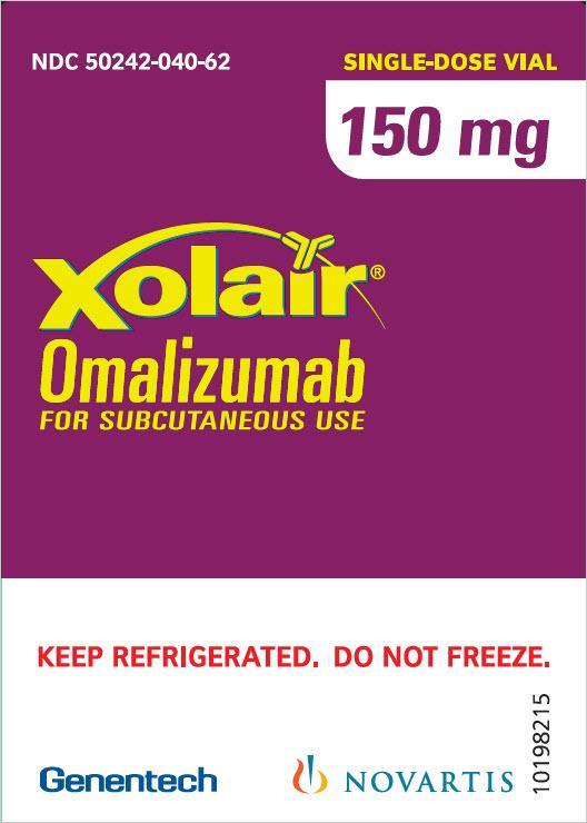 PRINCIPAL DISPLAY PANEL - 150 mg Vial Carton