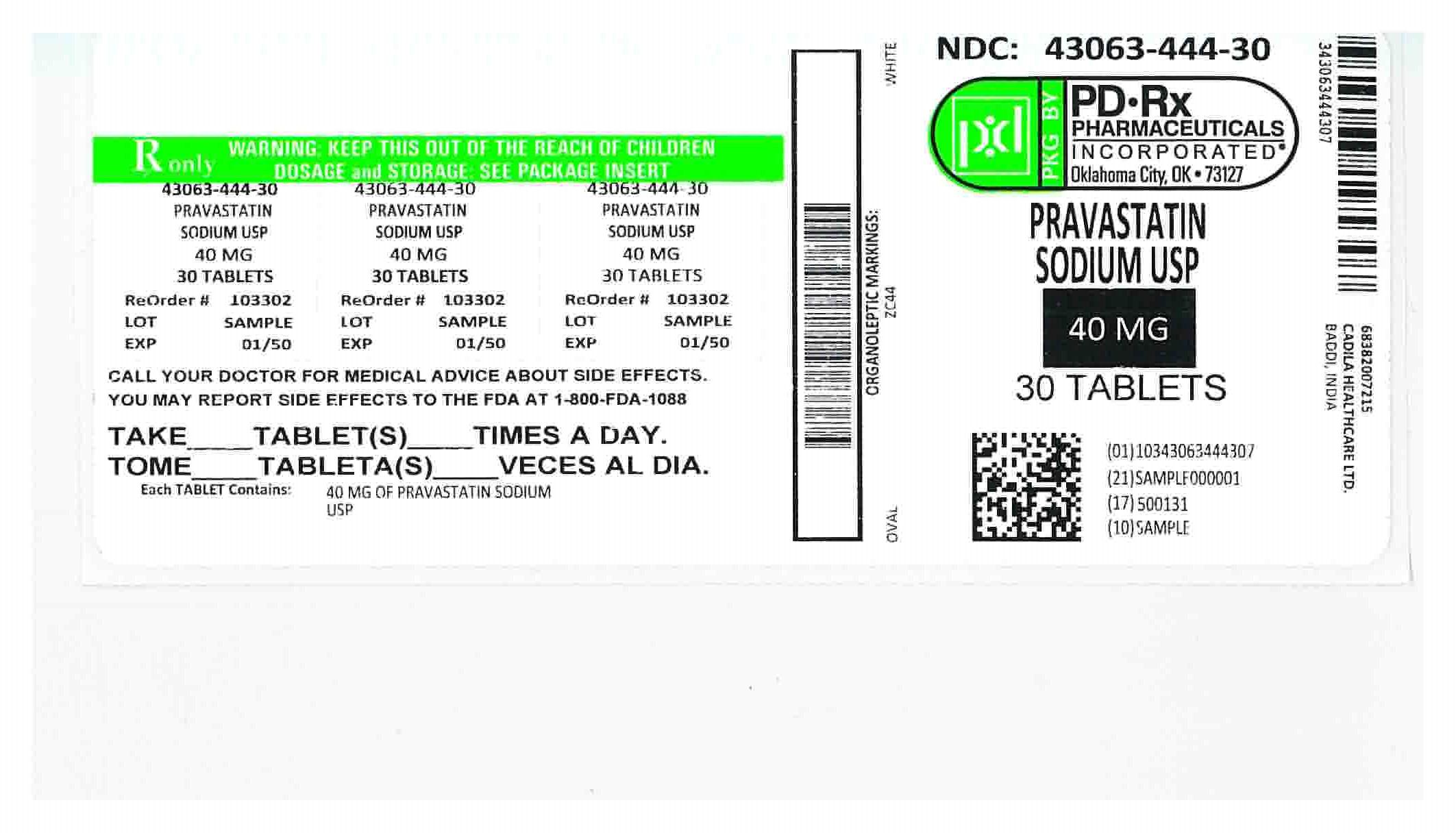 43063444 Label