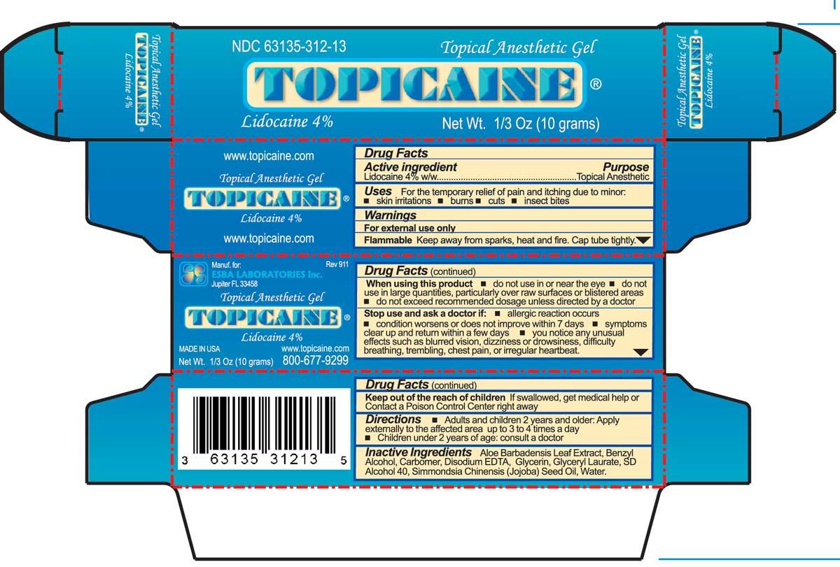 Box of Topicaine 4% 10 grams
