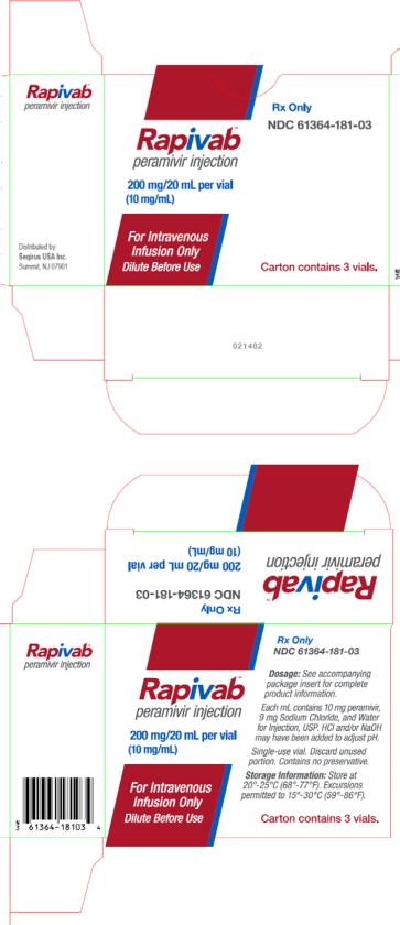 PRINCIPAL DISPLAY PANEL - 200 mg/20 mL Vial Carton