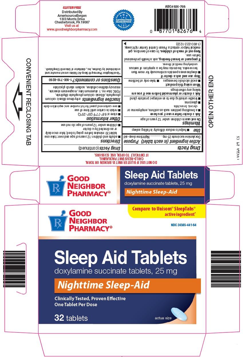 Good Neighbor Pharmacy Sleep Aid Tablets