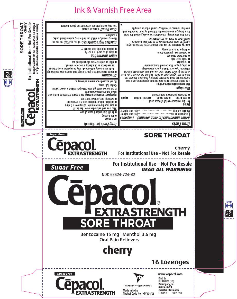 PRINCIPAL DISPLAY PANEL - 16 Lozenge Blister Pack Carton