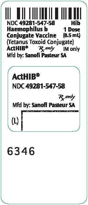 PRINCIPAL DISPLAY PANEL - 0.5 mL Vial Label