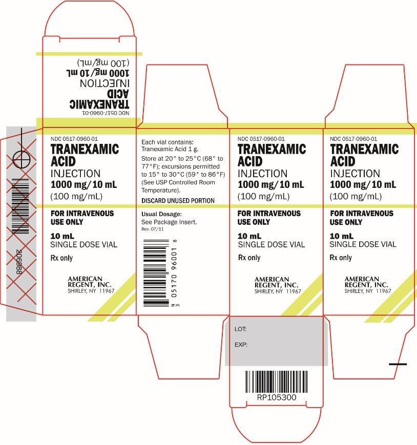 Unit Carton for Tranexamic Acid Injection