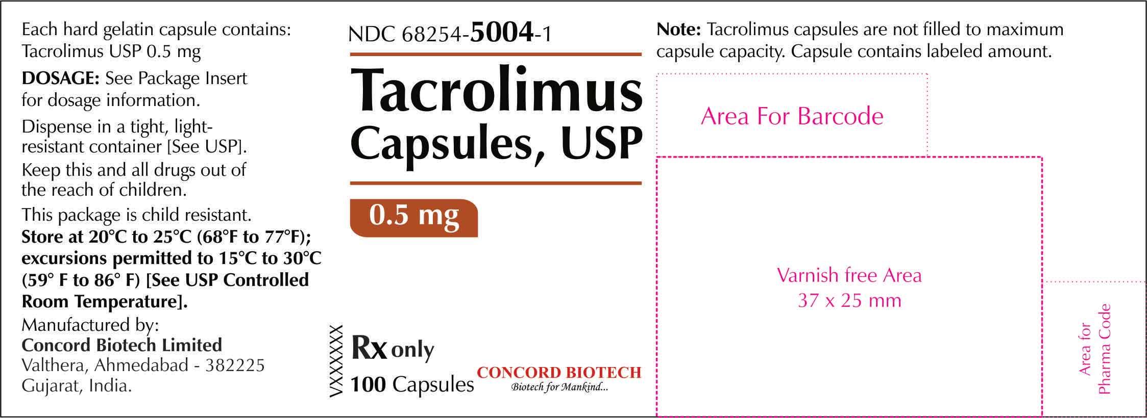 0.5 mg-100s