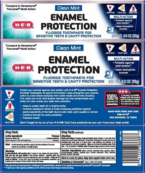 HEB Enamel Protect CleanMint 282169R2