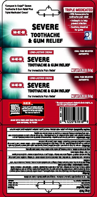 HEB Severe TA-GumRelief Cream 2821353R1