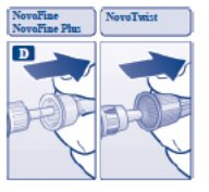 Pull off the outer needle cap.