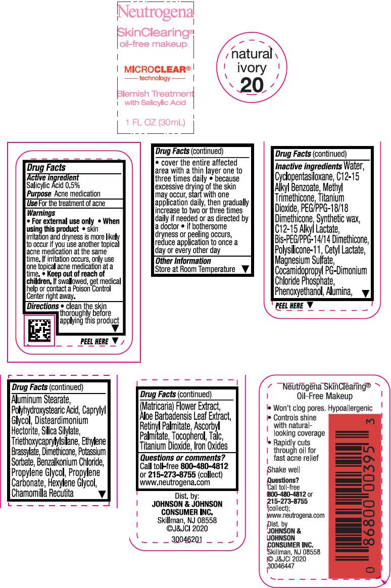 Principal Display Panel - 30 mL Bottle Label - Natural Ivory 20