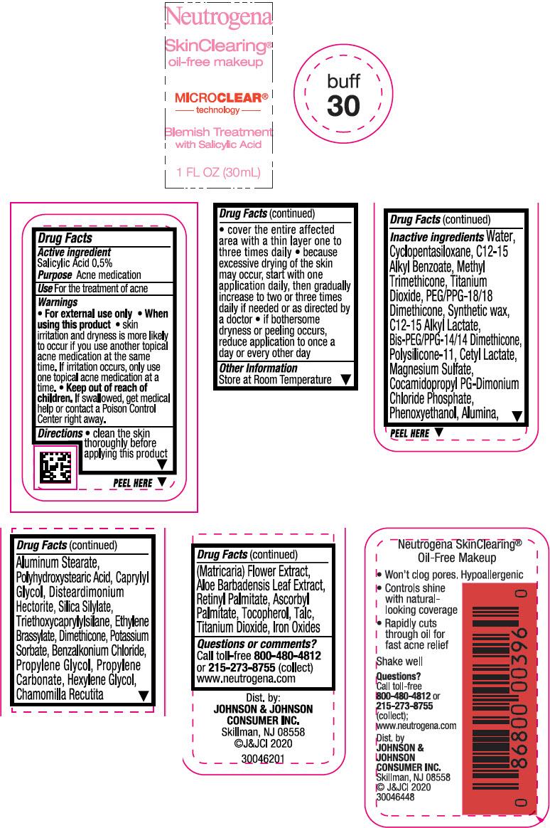 Principal Display Panel - 30 mL Bottle Label - Buff 30