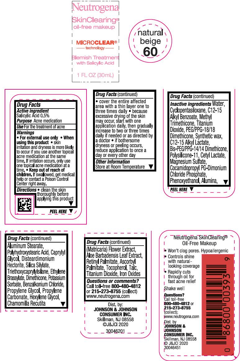 Principal Display Panel - 30 mL Bottle Label - Natural Beige 60