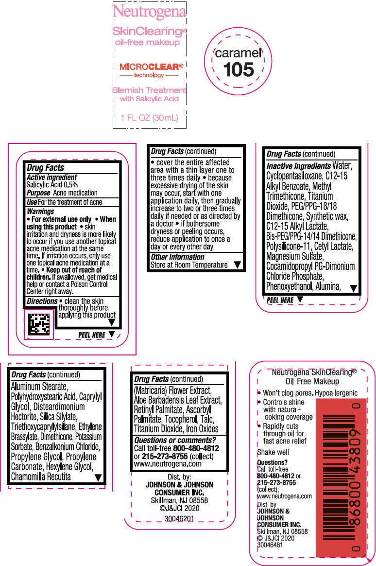 Principal Display Panel - 30 mL Bottle Label - Caramel 105