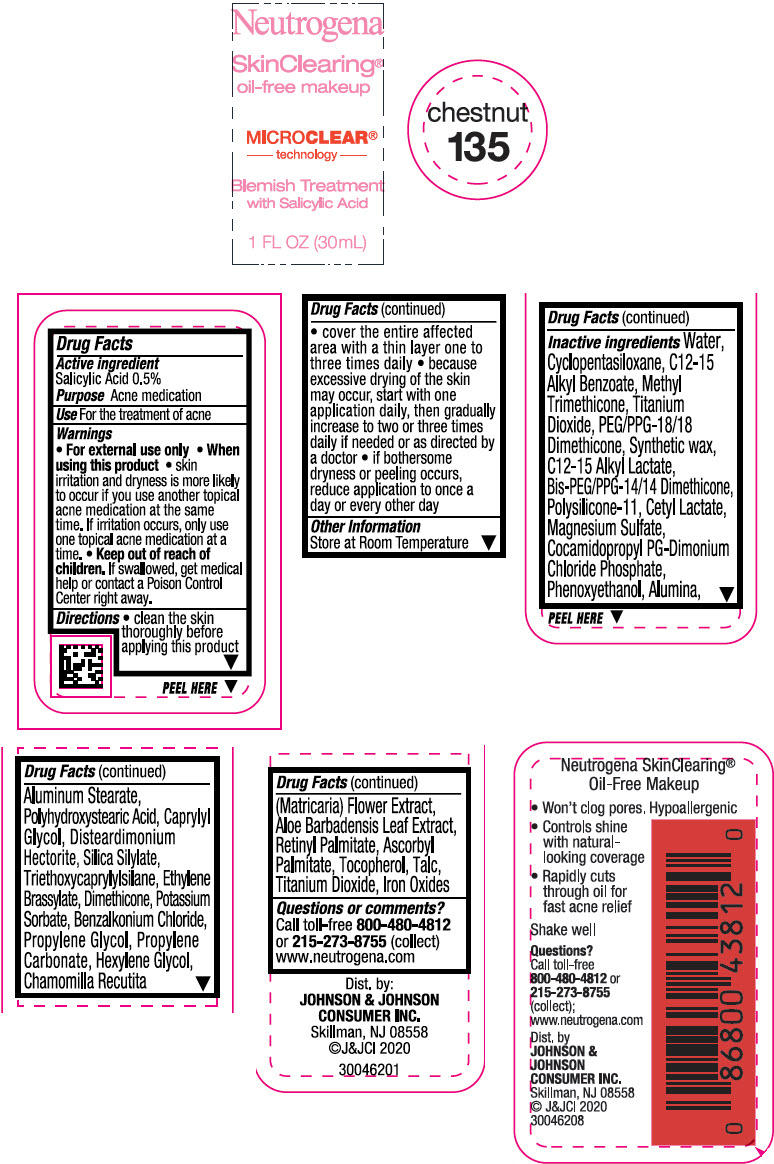 Principal Display Panel - 30 mL Bottle Label - Chestnut 135