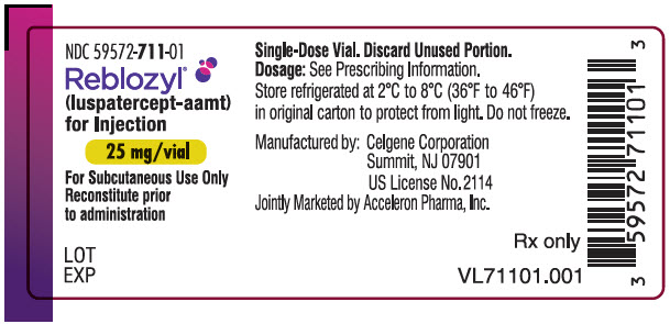PRINCIPAL DISPLAY PANEL - 25 mg Vial Label