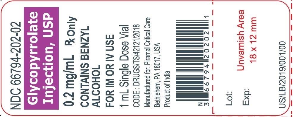 Glyco 1 ml label