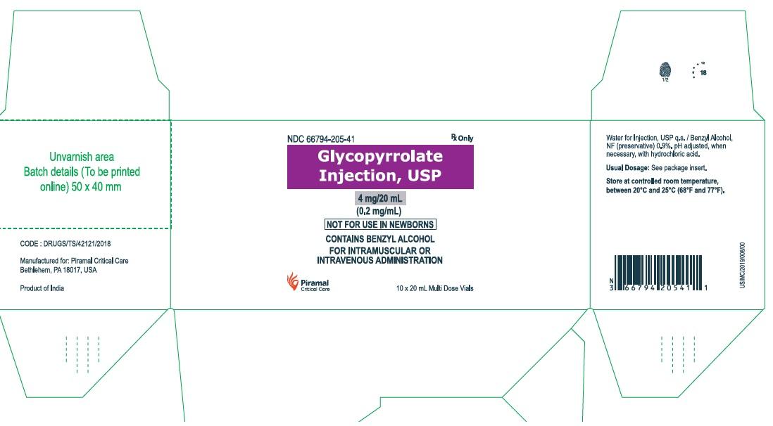 Glyco 20 ml carton