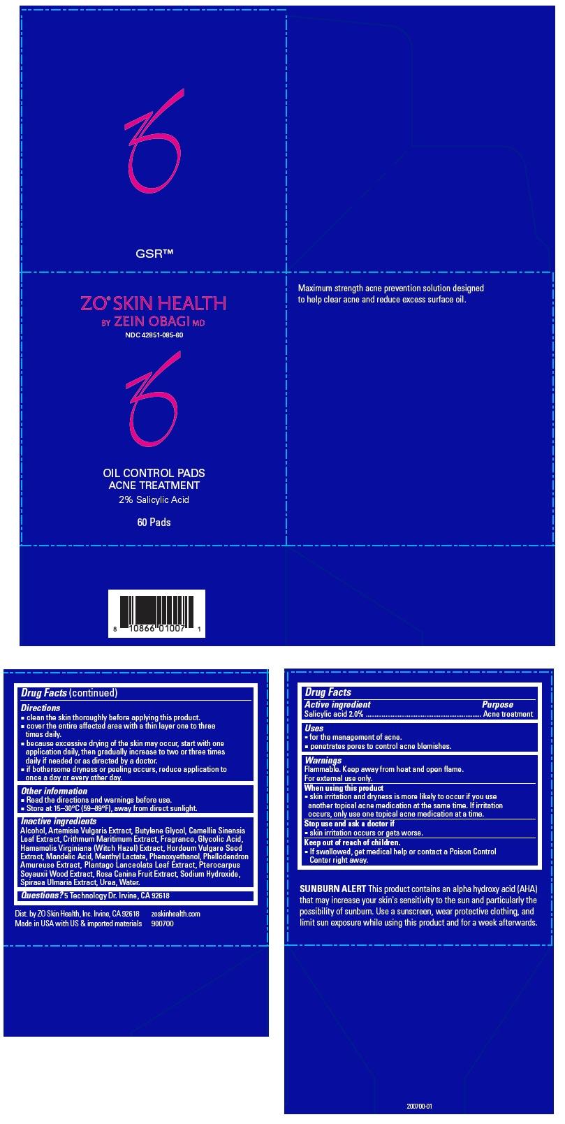 PRINCIPAL DISPLAY PANEL - 60 Pad Jar Carton