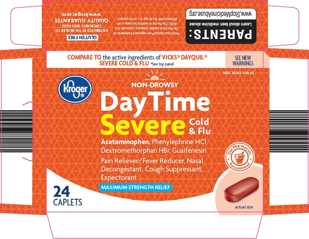 Kroger DayTime Severe Cold & Flu image 1